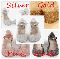 Wholesale 2013 new classic women high heeled jelly shoes slope with sparkling sequins hollow nest hole female flowers crystal plastic sandals