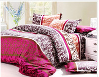Wholesale Promotion Hige quality Microfiber Printing bedclothes bedding bed linen4pcs Bedding Set duvet cover set bed set
