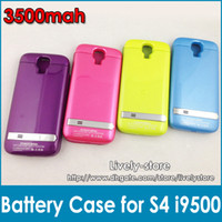 DHL 10pcs 3500mAh Colorful External Battery Case for Samsung...