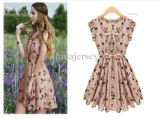 2013 Promotion! Fashion First Quality Women'S Dress Summer Clothes ...