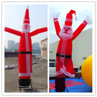 Wholesale New year hot selling mH advertising Christmas inflatable large Santa claus air dancer sky dancers inflatables signs dancing santa kids toys