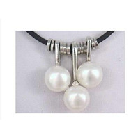 Wholesale Excellent WHITE PEARL NECKLACE PENDANT