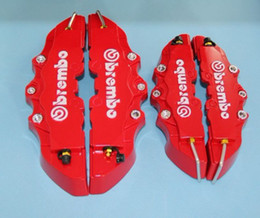 Wholesale set Universal Car Auto Brembo Style Disc Brake Caliper Covers Front And Rear RD