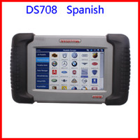 Wholesale 2013 Hottest Autel DS708 Maxidas Universal Diagnostic Scanner Spanish Version
