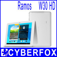 Wholesale Ramos W30HD pro Inch Android Tablet PC IPS Quad Core Exynos GB DDR3 GB Dual Camera