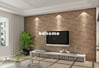 Wholesale Geometric patternsPVC wall paper rolls wallpaper suitable for bedroom living room free ship