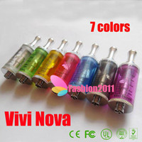 2013 hot colorful ViVi Nova big Tank atomizer V2 3. 5ml volum...