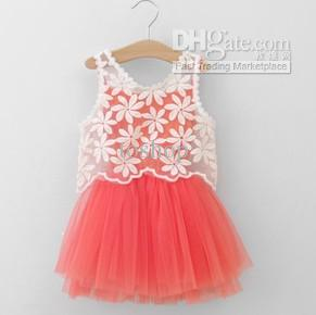 Design Kids Clothes Online Flower Girl s Baby Dress