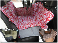 Wholesale New Arrival Pet Dog Car Rear Back Seat Carrier Cover Pet Dog Mat Blanket Hammock Cushion With English Letters