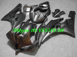 Injection Fairing kit for YAMAHA YZFR6 2006 2007 YZF R6 Bodywork YZF-R6 YZF600 R6 06 07 grey black Fairings kit+gifts YQ25