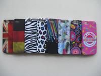 al por mayor iphone caja del silicio de leopardo-Los casos superventas de la contraportada del silicio de TPU de la bandera de Alemania del leopardo de la manera venden la piel para los colores de la mezcla del iPhone 5 100pcs DHL liberan el envío