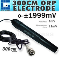 Wholesale GX ORP2 Replaceable ORP REDOX Electrode Probe mV ORP Meter Tester cm long Cable with BNC socket