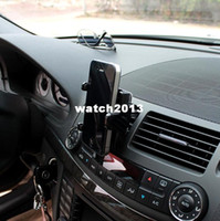 Bluetooth Universal Black Hot sale Free shipping car air ac outlet universal mobile phone holder cover stand for iphone 3 4 htc pda mp3 4 auto accessories
