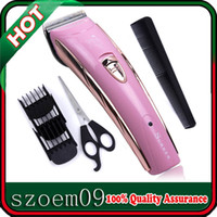 Rakes, Brushes & Combs HD-8202 pink & gold 110-240V SURKER Electric Rechargeable Hair Grooming Animal   Pet   Dog Clipper Trimmer