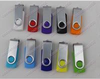 Promoción de 64 GB populares USB memory stick estilo de rotación Flash Drive 100pcs con DHL Fedex