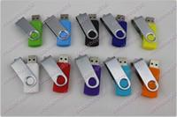lápiz de memoria Flash Drive estilo de rotación NUEVOS DHL 60pcs / lot la promoción 64GB populares USB con DHL Fedex