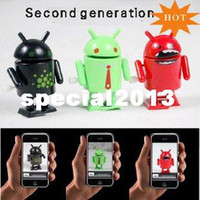 New Year android action figures - freeshipping Google Android Robot Toy Fashion Cute Robot Toy Mini Collectible Series Action Figure