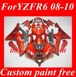 Injection Fairing bodywork for YAMAHA YZFR6 2008 2009 2010 YZF R6 YZF-R6 YZF600 R6 08 09 10 Fairings Body kit+gifts YB14