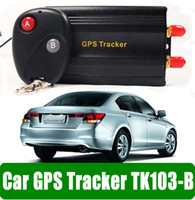 Wholesale Car Thinpax TK103B Vehicle GSM GPRS GPS Tracker Free PC version Software with remote control