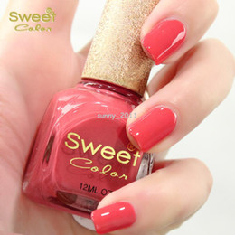 Wholesale Sweet color eco friendly nail polish oil series Acacia red beans ml