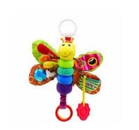 Wholesale Newest Lamaze Toy Baby Development Toy Felt Boards Baby Rattles Toys Cartoon Lamaze Elephant Plush Dolls