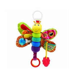 Wholesale Newest Lamaze Toy Baby Development Toy Felt Boards Baby Rattles Toys Cartoon Lamaze Elephant Plush Dolls