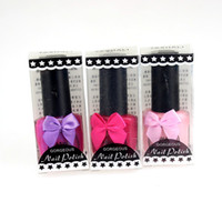Wholesale Hot Sale Nail Art Supplies color optional Sweet Color Nail Polish Nail Lacquer Nail Art Polish