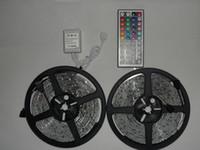 5M Новый 3528 SMD водонепроницаемый IP65 300 свет СИД гибкая прокладка + 44 Key Free ИК-пульт Conroller -NIMILED