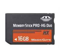 Wholesale Memory Stick New GB Ms Pro HG Duo G MS Card Magic Gate For PSP Game Player Camera Camcorder PMP Phone