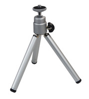 Wholesale Universal Mini Travel Aluminum Metal Lightweight Tripod Support Stand Mount for Digital Camera Webcam