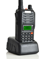 Wholesale New W CH Walkie Talkie UHF VHF H555 Interphone Transceiver Two Way handheld Radio with LCD Mobile Portable Itercom