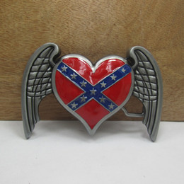 BuckleHome Rebel heat belt buckle with pewter finish FP-03269 with continous stock free shipping