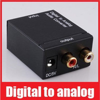 VGA audio converter optical to rca - Digital Optical Coaxial Toslink to Analog RCA L R Audio Converter V310