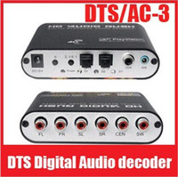 Wholesale 5 Channel AC3 DTS Audio Gear Digital Surround Sound Rush Decoder Home Theater DTS AC Digital Audio decoder
