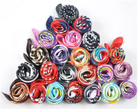 Wholesale Silk scarves decoration Wrap Scarf Wristband more Colors