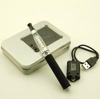 Recargable sano-orientado cigarrillo electrónico E-Cigarrillo EGO-CE4 900MAH con cigarrillo electrónico CE4 1,6 ml atomizador con caja al por menor