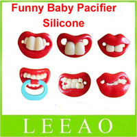 Wholesale Lowest Price Hot selling top quality Guarantee designs mixed funny silicone baby pacifier free ship