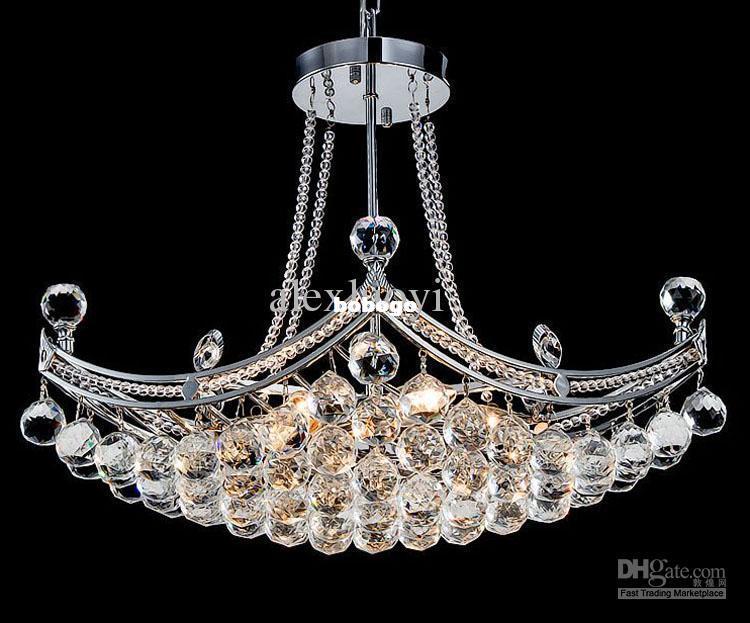 Modern Crystal Chandelier Living Room Bedroom Dining Room Lamp – Bedroom Crystal Chandelier