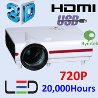 Wholesale HD Lumens Home Cinema D Projector LED Hrs LCD Display Native P i P Support