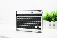 Wholesale Ultra thin Aluminum Wireless Bluetooth Keyboard Stand Holder Case for Apple iPad Mini
