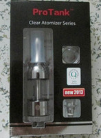 Cheap On Sale! Huge Vapor Pyrex Clearomizer Pro-Tank Replaceable Coil Protank Glassomizer 2.5ml paper package Clear