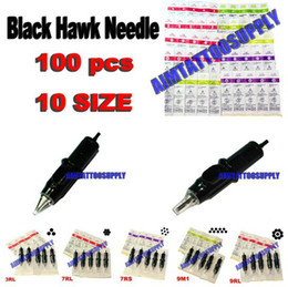 Wholesale Black cartridge tattoo needle size high quality tattoo needles hot sale