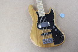 Wholesale New marcus miller signature bass String Bass Guitar wood color active amplifier circuit