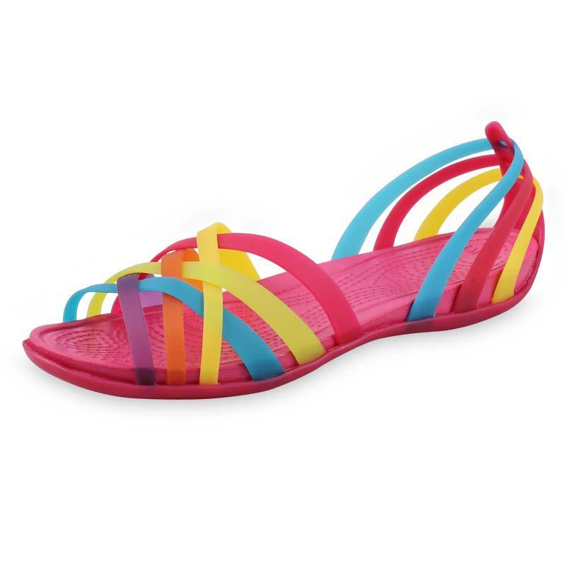Women Rainbow Flirty Braidy Sandal 301ALTSB Leather Expresso 100% Authentic New
