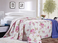 Cheap VooChoo 100% Cotton Summer Quilt-1.5 Soft and Breathable Flowers Bloom Small Size
