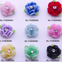 resin accessories for nail art - Nail Accessories d Flat Back Rose Mix Fashion Nail Art Decorations Shop Flat back Diy Resin Handmade flower For Nail
