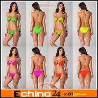 Cheap 2013 New Women Sexy Tassel Bikini Swimming Wear Swimwear Swimsuit 4 Colors Bathing Suit