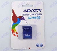 Wholesale ADATA GB Memory Card SD SDHC Card Flash GB SDHC card high speed for camera Tablet PC with ADATA retail package DHgate DHL Free