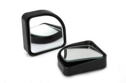 Wholesale 100pcs Blind spot mirror Wide Angle Round Blind Spot Side Rearview Mirror Rear View Auto Car Pair