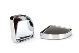 Wholesale 50pcs Blind spot mirror Wide Angle Round Blind Spot Side Rearview Mirror Rear View Auto Car Pair high quality
